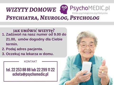Wizyty Domowe Psychiatry