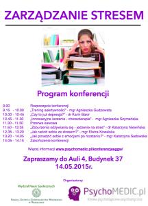 Konferencja Zarządzanie Stresem