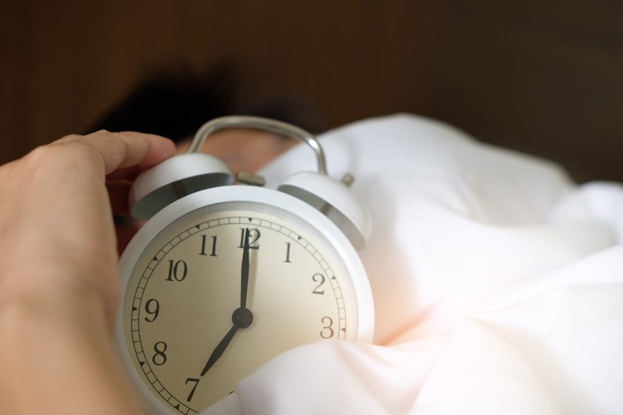 Zaburzenia snu - co robić, gdy się pojawią?