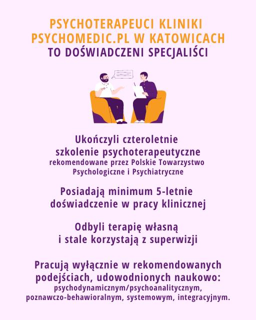 Psycholoterapeuta Katowice PsychoMedicPl
