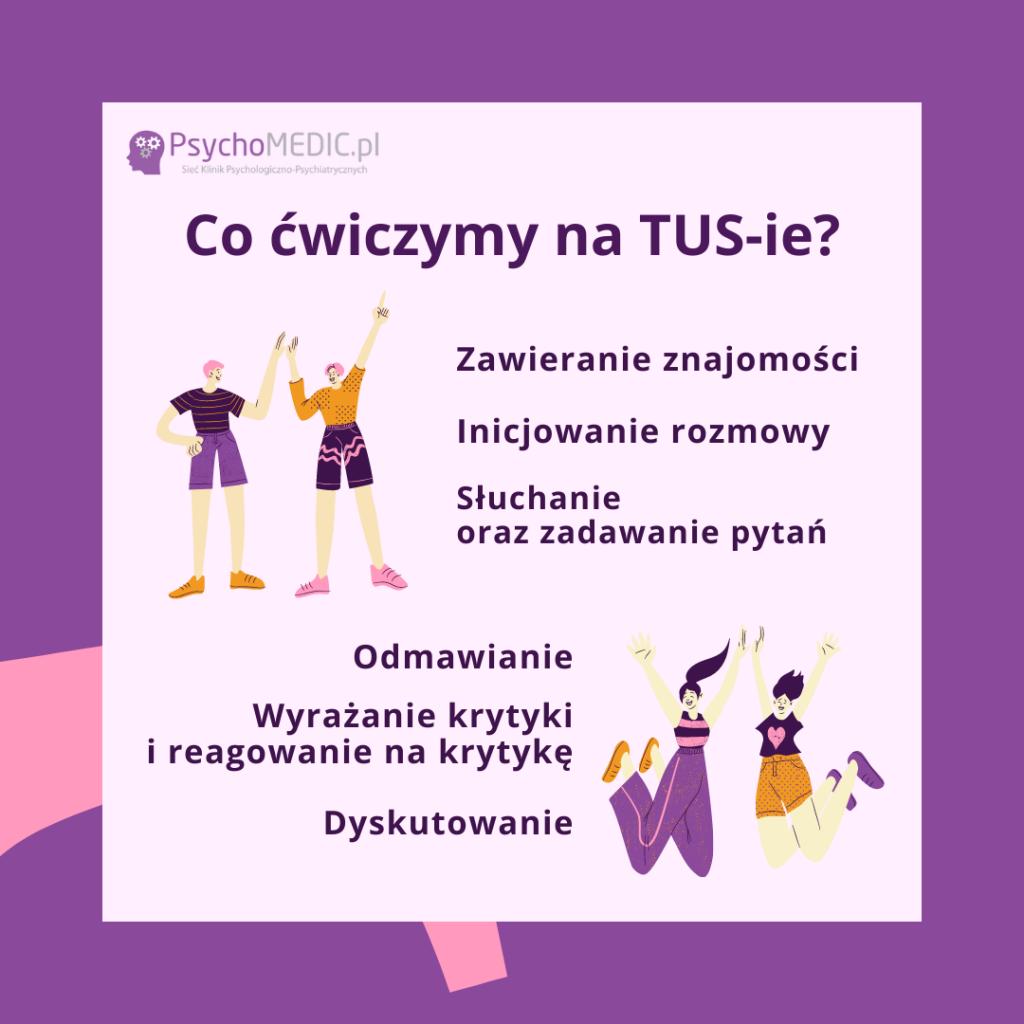 Trening Umiejętności Społecznych TUS Katowice PsychoMedic.pl